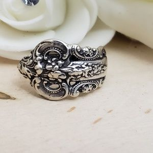 Jewelry - Vintage Wallace Grand Baroque Sterling Silver Ring